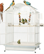 MACAW, LARGE BIRD CAGES